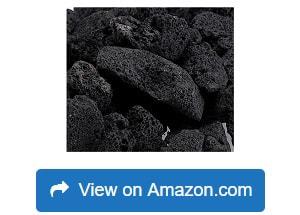American-Fireglass-LAVA-M-10-American-Fire-Glass-Medium-Sized-Black-Lava-Rocks