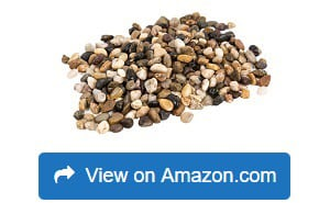 Royal Imports 5lb Large Decorative Polished Gravel River Pebbles Rock