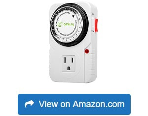 Century 24 Hour Plug in Mechanical Timer