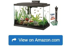 Aqueon LED Aquarium Kit 20H Black