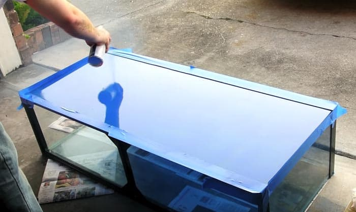 best paint for aquarium glass