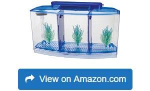 Penn-Plax-Deluxe-Triple-Betta-Bow-Aquarium-Tank